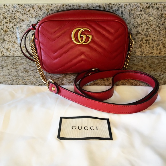 81607c56153 Gucci Handbags - Gucci Marmont Mini Camera bag. 100% authentic.NWOT